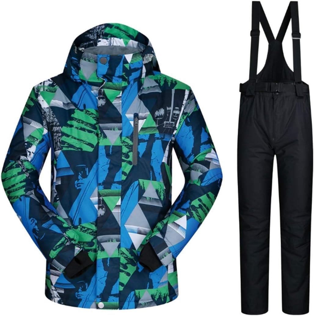 LilyAngel メンズマウンテン防水スキージャケット防風スノースーツ  XXXL