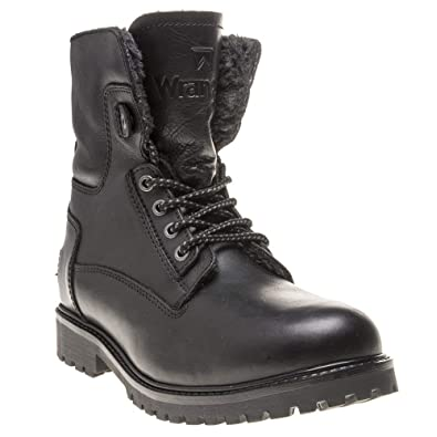 d7f47e1f592 Wrangler Aviator Boots Black