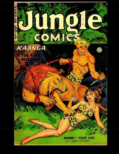 Download Jungle Comics #154: Golden Age Jungle Comic 1952 PDF