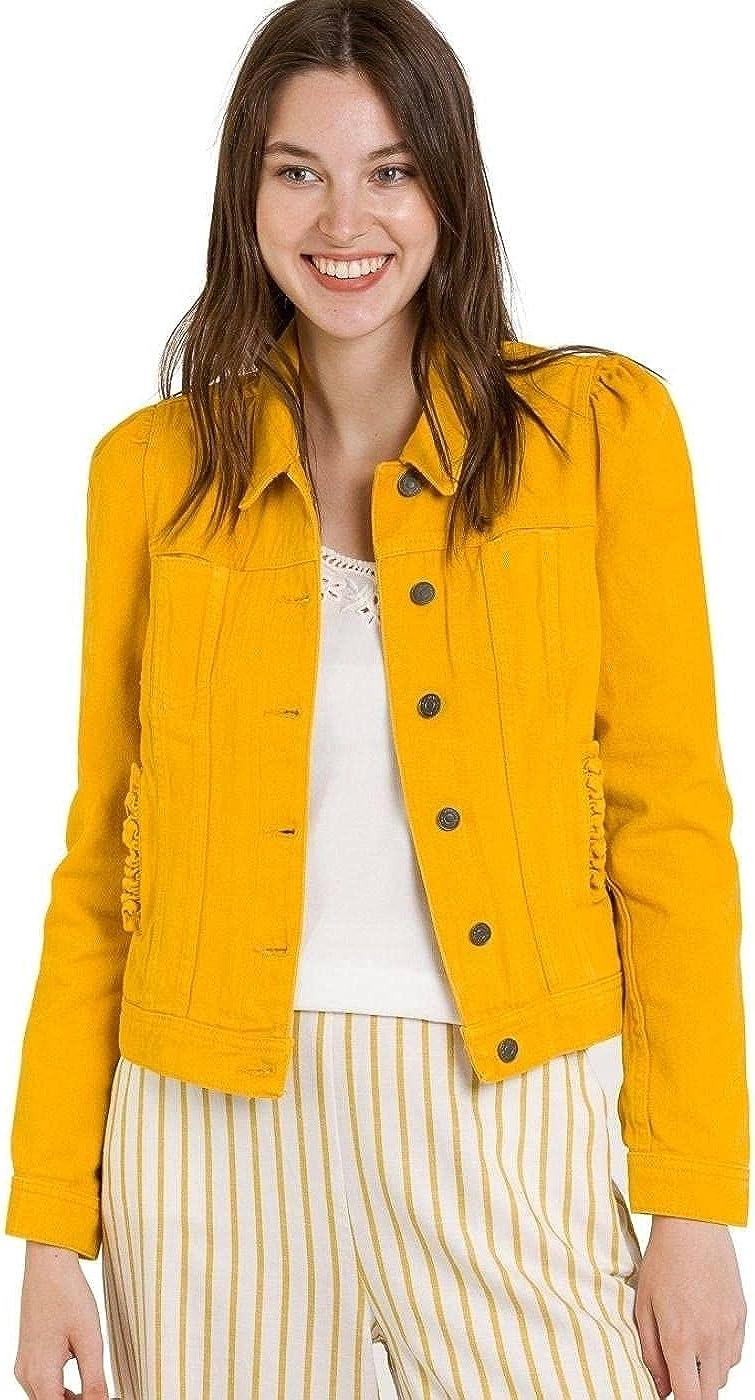Naf Naf Cazadora Moutarde Amarillo para Mujer