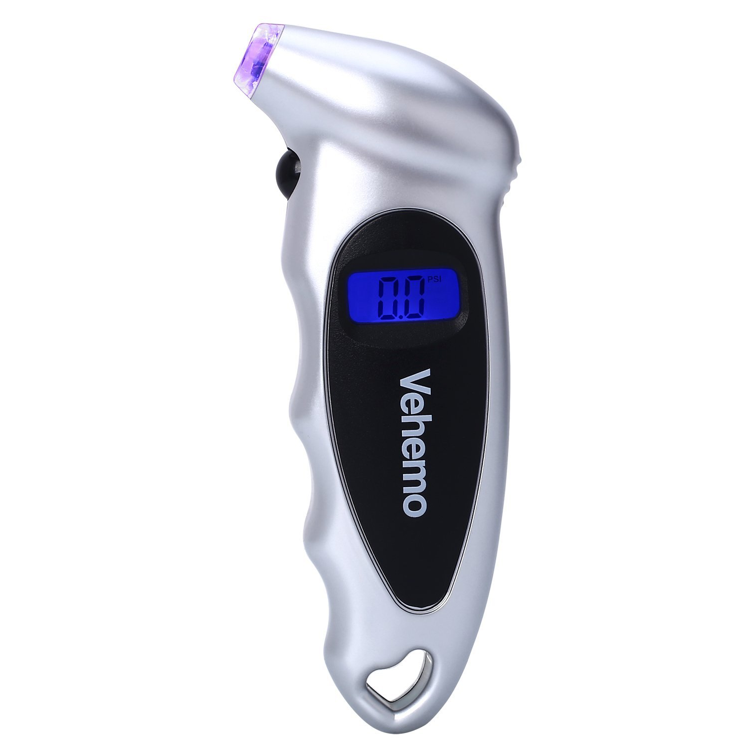 Vehemo Digital Tire Pressure Gauge TG-A01 100 PSI, Bright LED Light, 4 Settings PSI Bar KPA Kgf/cm, Quickly and Accurately Monitor Tire Air Pressure 4333085069
