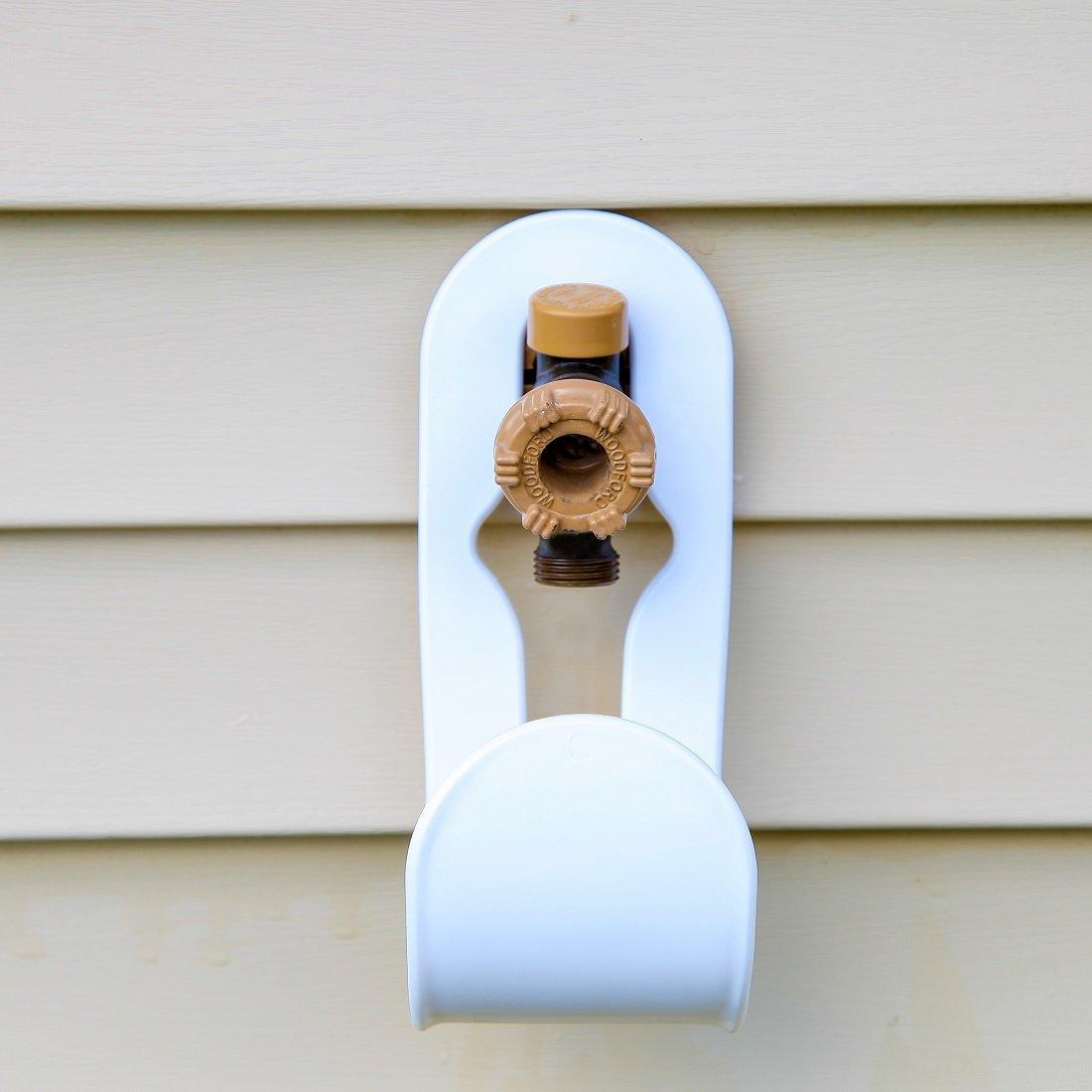 amazon com home x faucet mount hose holder garden u0026 outdoor