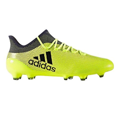 adidas X 17.1 FG, Scarpe da Calcio Uomo, Giallo (Amasol Tinley),