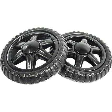 2 rueda de repuesto (para cochecito carro de la compra carrito de la ...