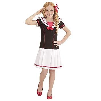 WIDMANN 02208 - Disfraz infantil de marinera (vestido): Amazon.es ...