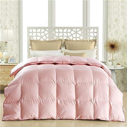 Piumino Con Copripiumino.Wybf Piumino In Piumino D Oca Bianco Super King Bed Piumino