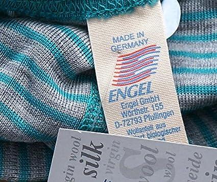 Engel Natur kbT 30/% Seide Baby Ringel H/äubchen 70/% Wolle