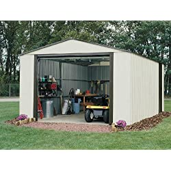 Arrow Vinyl Murryhill Garage Shed, 12' x 17'