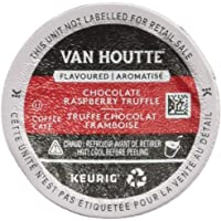 Van Houtte Chocolate Raspberry Truffle Single Serve Keurig Certified Recyclable K-Cup pods for Keurig brewers, 24 Count