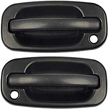 Amazon Com Parts N Go 99 07 Chevy Silverado 1500 Door Handle Pair Lh Rh Driver Passenger Side Set 15034985 15034986 Gm1310129 Gm1311129 Automotive