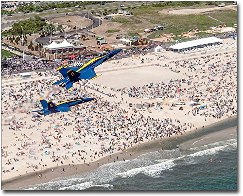 U.S. Navy Blue Angels Bethpage Air Show 8x10 Silver Halide Photo Print