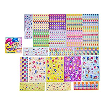Shimmer & Shine Sticker Kits: Toys & Games