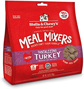Stella & Chewy's Meal Mixers Freeze Dried Tantalizing Turkey 3.5 Oz (3 Pack)