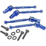 RC Aluminum Front & Rear Driveshaft Assembly for Traxxas LaTrax 1/18 Teton,Desert Prerunner,SST-Replaces Part 7650