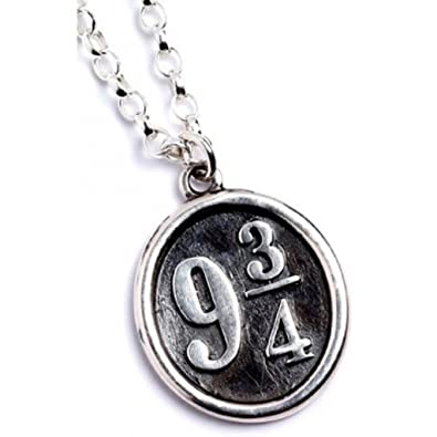collier 9 3/4 harry potter