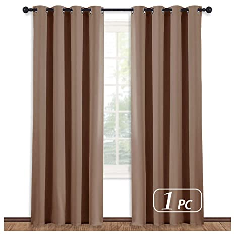 NICETOWN Solid Grommet Blackout Curtains Energy Smart Thermal