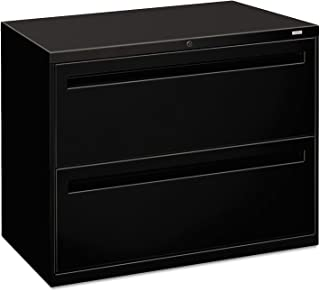 """product image for 700 Series 36"""" W Two-Drawer Lateral File Finish: Black"""