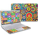 """MightySkins Protective Vinyl Skin Decal for Samsung Notebook 9 13"""" (2017) wrap Cover Sticker Skins Flower Wheels"""