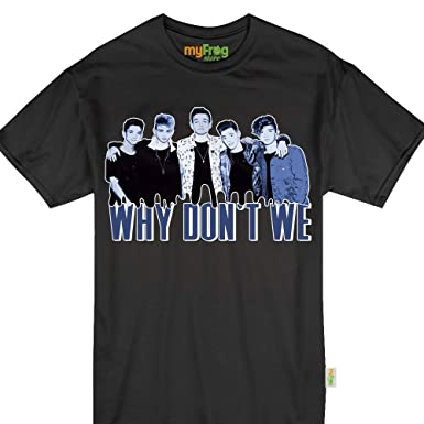 cd2e933e75 Amazon.com  My Frog Store Why-Don t-We Pop Music Tshirt  Clothing