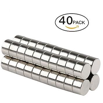 sey6 Ronda cilindro imanes para frigorífico Puerta de la ...