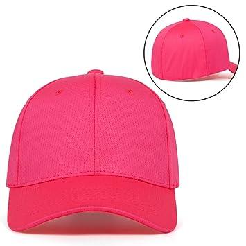 GSFD&DFGW Gorra de béisbol de Color sólido Sombrero de papá de 6 ...
