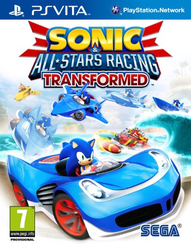 Sonic & All-Stars Racing Transformed Sony Playstation PS Vita Game (Ps Games Sonic Vita)