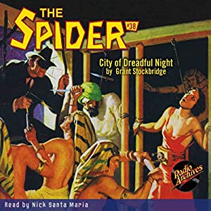 Spider #38, November 1936 Audiobook
