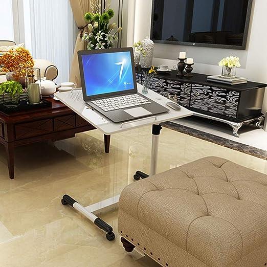 Escritorio plegable para laptop Sobremesa con ruedas Mesa de ...