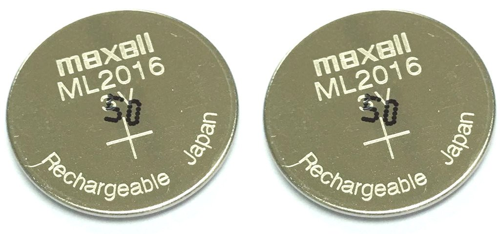 ML2016 Battery- MAXELL Rechargeable Battery x