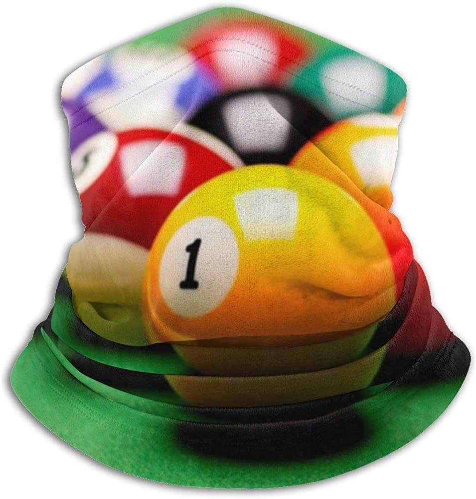 Billar Pool Balls Snooker Contest Sports Game Bufanda a prueba de ...