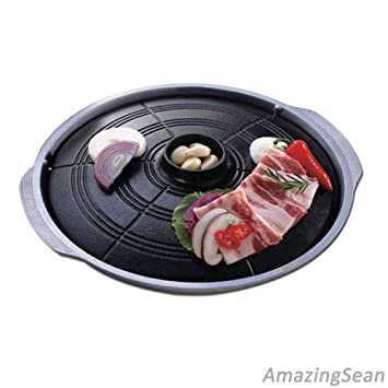New Korean Bbq Grill Stovetop Barbecue Table Top Bbq Indoor Barbecue Grill Pan