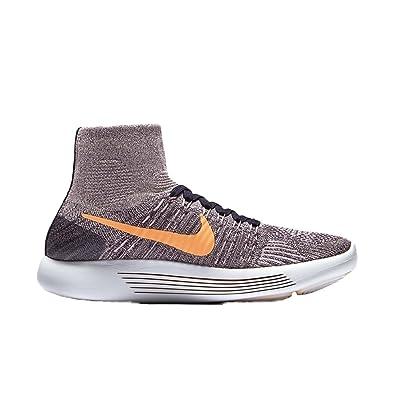 NIKE Women's Lunarepic Flyknit Running Shoes (5 B(M) US, Purple Dynasty