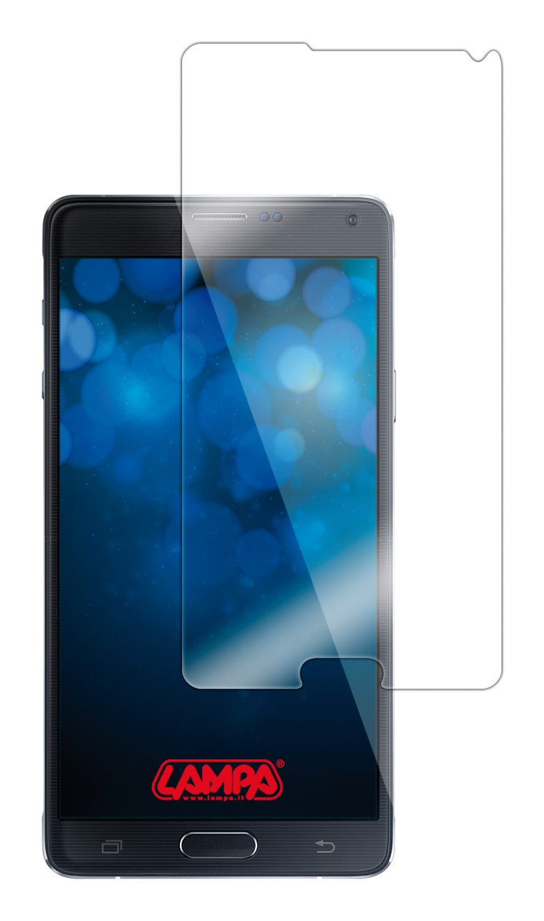 Protector de Pantalla, Samsung, Galaxy Note 4, Resistente al Polvo, Oil-Resistant, Resistente a rayones, Transparente, 1 Pieza Lampa P15146 s Protector de Pantalla