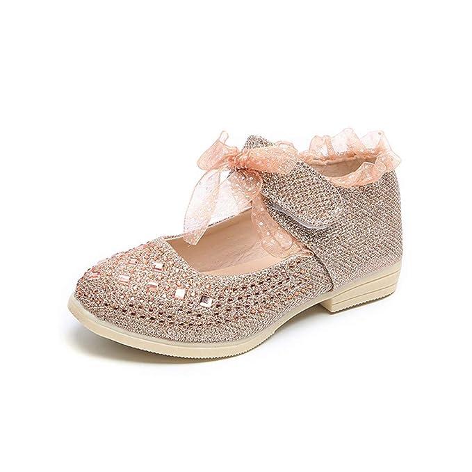 Amazon.com: Frestime - Zapatillas de princesa para bebés y ...