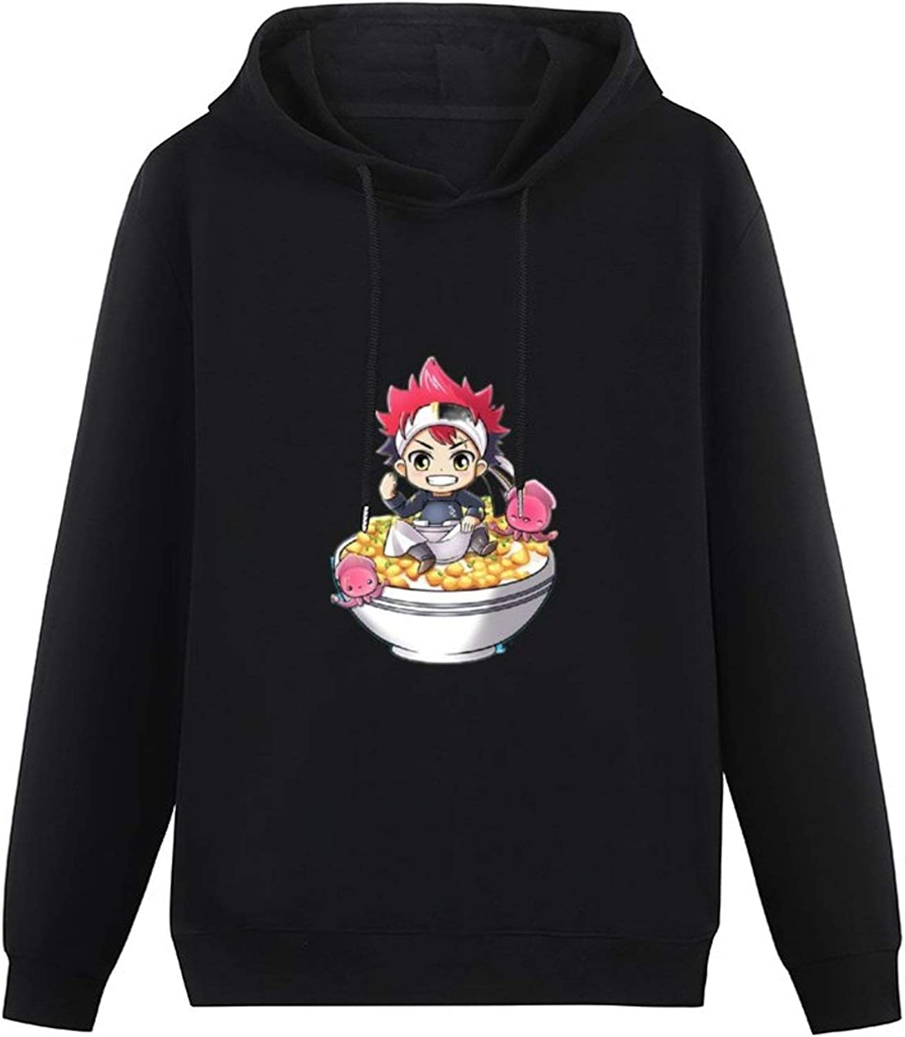 Soma Food Wars - Stickers Apron All-Match Hoodie boy Style Pullover