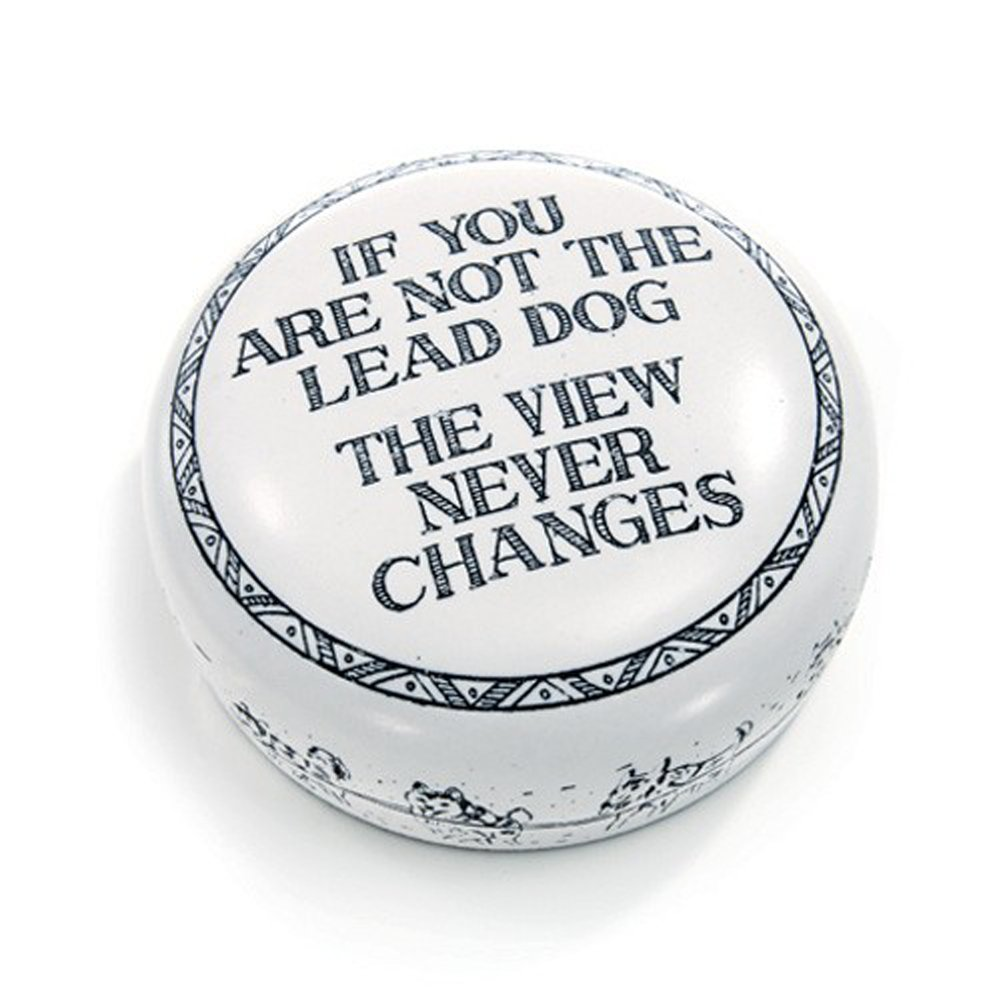 Concord Paper Weight Lead Dog