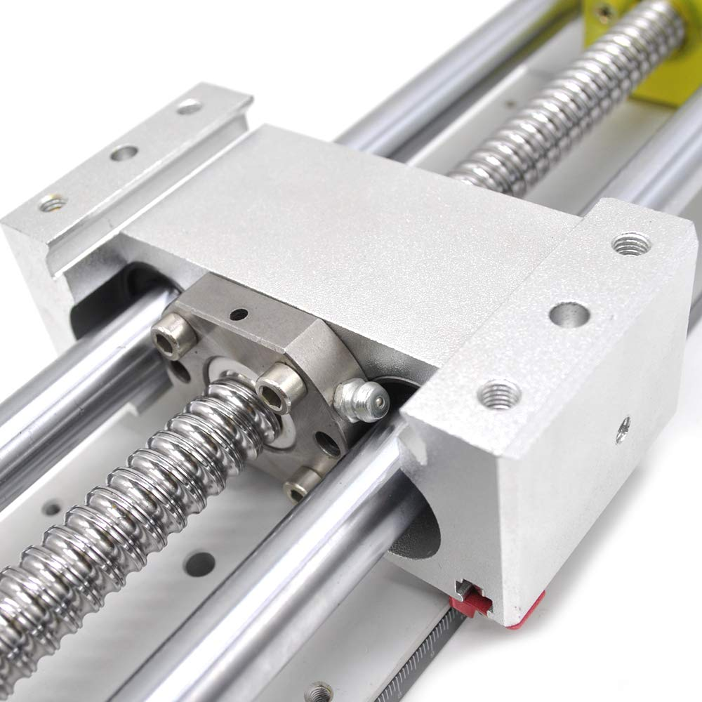Heavy Load Linear Stage Actuator 28Inch CNC Slide Table SFU1605 Ball Screw+16MM-SBR Guide with Hand-Wheel