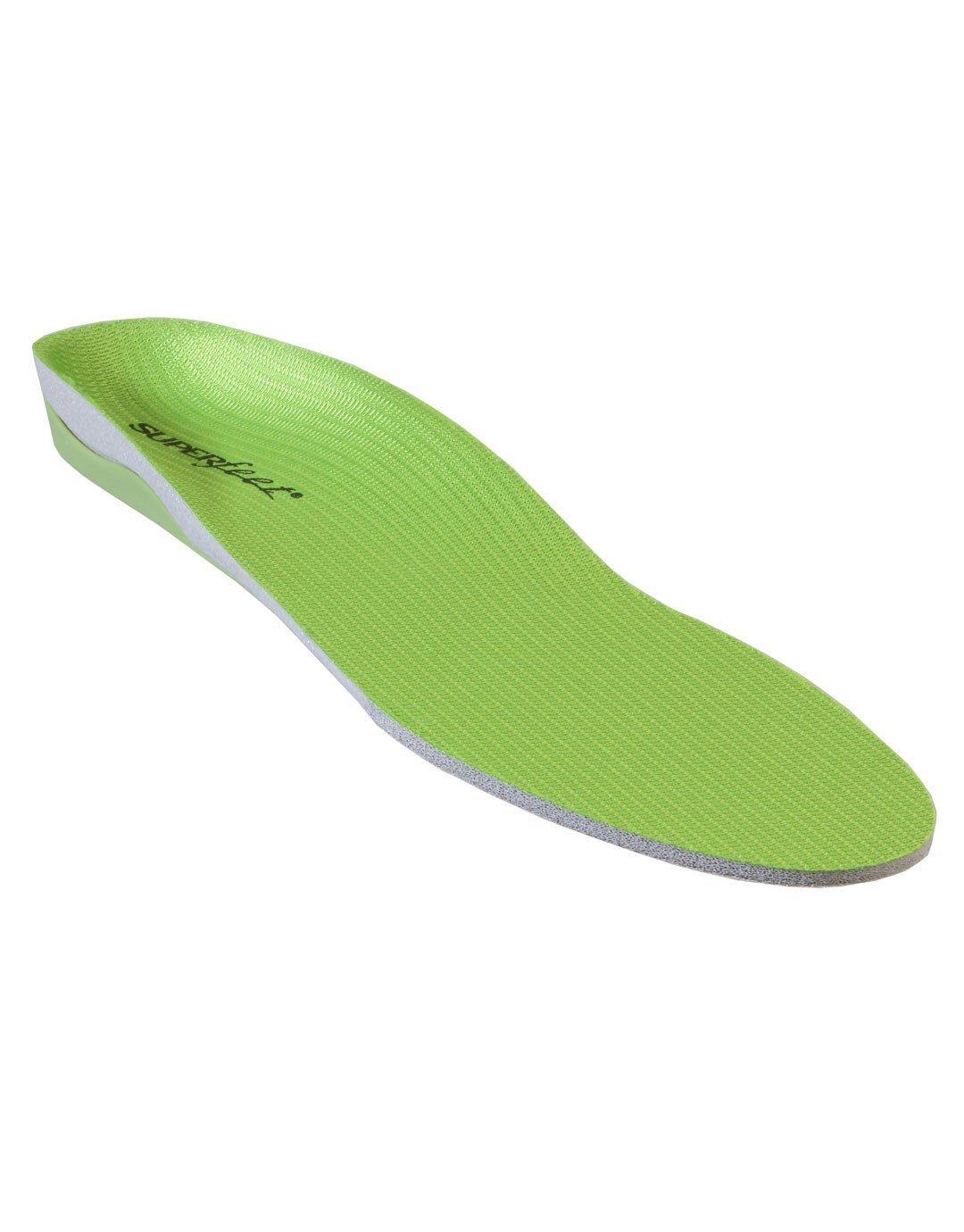 Superfeet Unisex Premium Green Green 8.5-10 Women / 7.5-9 Men  US