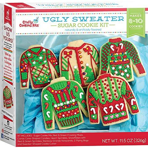 In The Mix Cookie Kit, Ugly Sweater, 11.5 Ounce (Cookie Baking Kit)