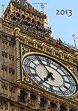 Kalender 2013 - London: Big Ben, DIN A5, 1 Woche auf einer Doppelseite (German Edition)