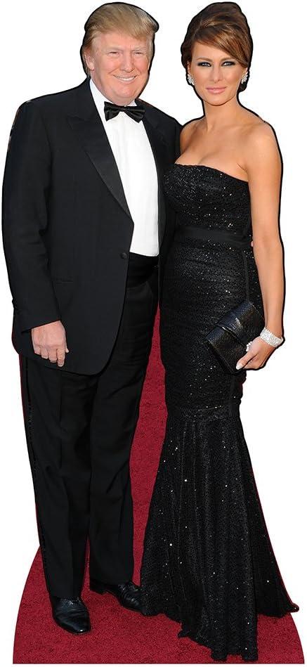 Melania Trump Cardboard Cutout lifesize Standee. Red Dress