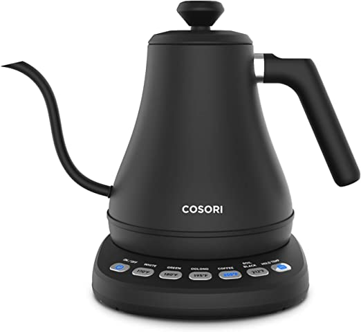 COSORI Electric Gooseneck Kettle, Pour Over Coffee Kettle