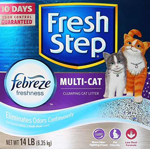 Fresh Step Multi Cat Scoopable Packaging