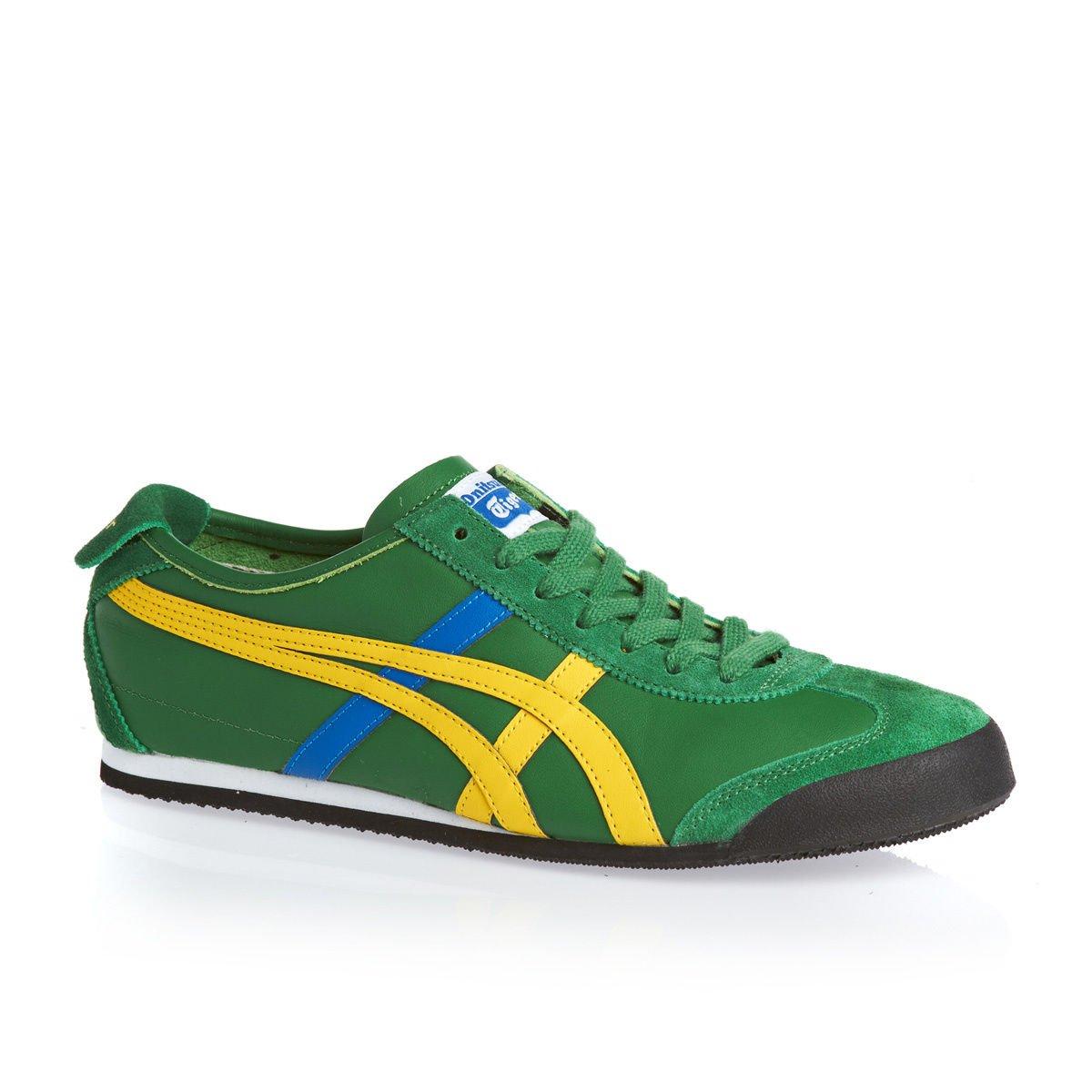 innovative design 5ee28 a1097 Onitsuka Tiger Mexico 66 Sneaker Amazon Green / Ye: Amazon ...