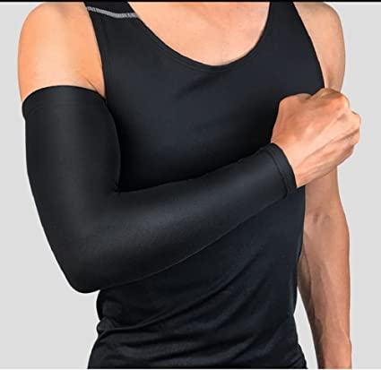 Apparel Accessories Running Arm Sleeves Basketball Elbow Pad Fitness Armguards Breathable Quick Dry Uv Protection Sports Cycling Arm Warmers
