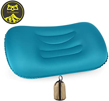 Travel Camping Pillow hot sale Inflatable Head Rest Cushion