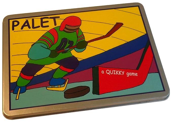 Hockey sobre hielo - Palet: Amazon.es: Juguetes y juegos