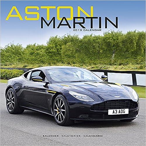 Aston Martin 2019 Wall Calendar