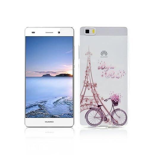 49 opinioni per Cover Huawei P8 LITE Custodia TPU Silicone OuDu Cover Huawei P8 LITE Cassa Gomma