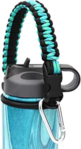 Aleola Handle Survival Strap with Security Ring for Wide Mouth Water Bottles